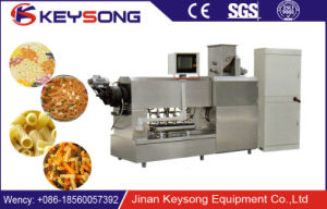Good Frying Pellets Macaroni Snacks Machinery pictures & photos