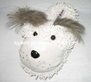 Plush Stuffed Slipper Shoes Dog Head (TF9712) pictures & photos