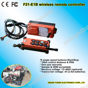 F21-E1b Crane Hoist Wireless Remote Control pictures & photos
