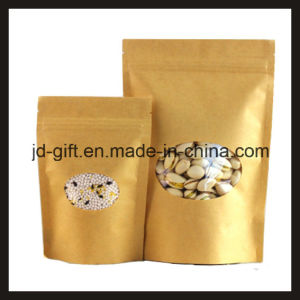 Wholesale Eco-Friendly Food Grade Bread Paper Packing Bags for Sale (13*20+4cm) pictures & photos