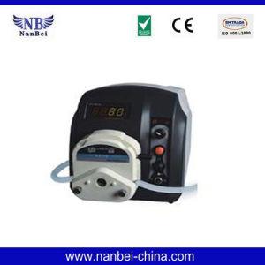 Bt100L LCD Display Intelligent Flow Peristaltic Pump pictures & photos