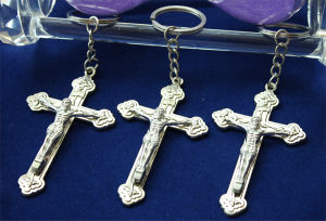 Metal Religious Cross Pendant (MX224)