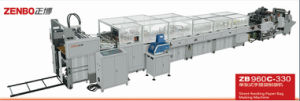 Sheet Feed Paper Bag Machine Without Handle (ZB960C) pictures & photos