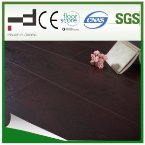12mm V-Groove Living Room Use Hand-Scraped Embossment Laminate Flooring pictures & photos