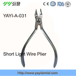 Dental Instrument Othodontic Pliers - Brevirostrate Wire Plier - (A-031) pictures & photos