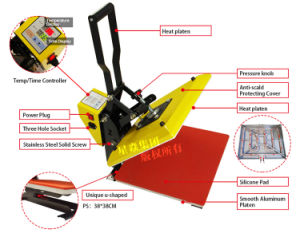 New Highpressure Heat Press Machine pictures & photos