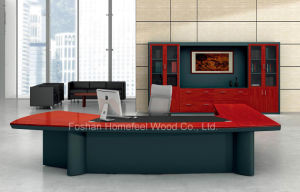 High Grade Wooden Manager Director Executive Office Desk Furniture (HF-LTA009) pictures & photos