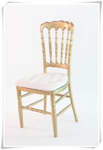Wholesale Wood and Resin Napoleon Chair for Wedding, Rental, Party pictures & photos