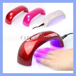 Rainbow 6W 9W LED Light Bridge Shaped Mini Curing Nail Dryer Nail Art UV Lamp Care Machine pictures & photos