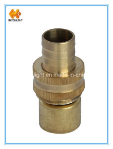 China Factory Direct Brass Garden Hose Fitting pictures & photos