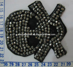Charming Small Hot Fix Skull Motifs Patches