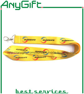 Woven Lanyard with Customized Logo (LAG-LY-24) pictures & photos