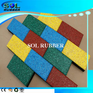 Bright EPDM High Quality Outdoor Rubber Mat pictures & photos
