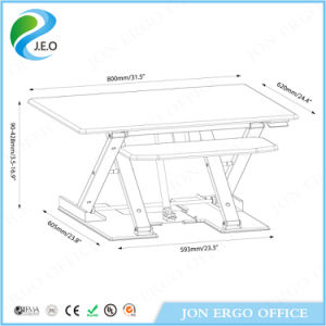 Height Adjustable Stand up Desk (JN-LD08) pictures & photos