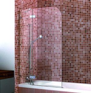 Hinge Door Frameless Bathtub Shower Screen pictures & photos