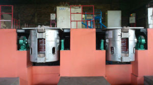 Electric Induction Smelting Furnace (GW-1-600/1JJ) pictures & photos