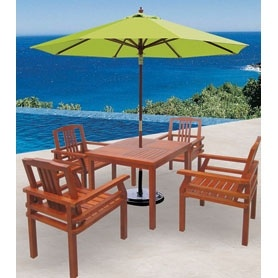 Indonesia Wood Garden Patio Dining Outdoor Furniture (JJ-LT07)