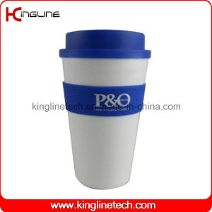 450ml Silicone Coffee Cup (KL-CP018) pictures & photos