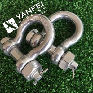 Rigging Hardware Stainless Steel Us Type Bow Shackle pictures & photos