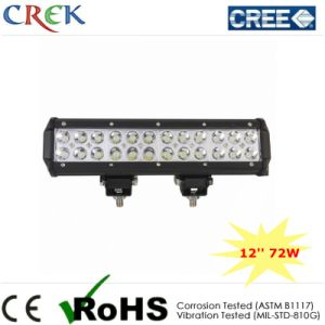 12′′ Inch 72W LED Light Bar CREE LEDs (CK-BC21203)