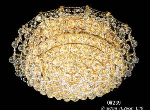 Zhongshan Factory Classic Traditional K9 Crystal Chandelier Ow239 pictures & photos