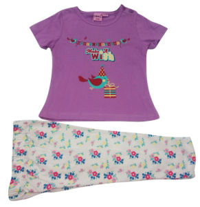 Summer Baby Girl Children′s Suit for Kids Clothing pictures & photos