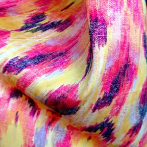 Poly Print Silk Fabric (XY-2014011B) pictures & photos
