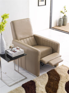 Grey Color Push Back America Design Slim Armrest Chair pictures & photos