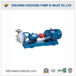 Anticorrosion Fluoroplastic Chemical Impeller Pump
