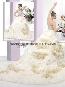 Sweetheart Ball Gowns Organza Beads Quinceanera Dresses Z5071 pictures & photos