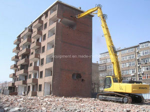 Excavator High Reach Demolition 75′ for Komatsu (PC450) pictures & photos