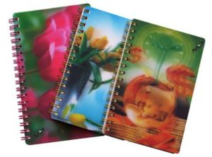 2015 New 3D Personalised Notebooks for Promoting pictures & photos