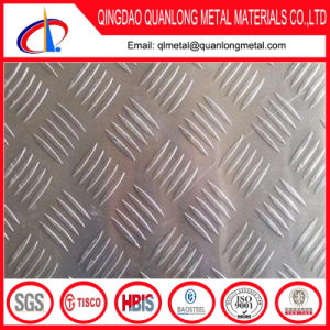 304 304L Dimond Checker Stainless Steel Plate pictures & photos