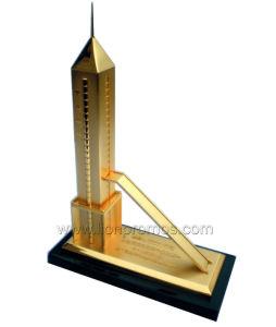 Custom Shape Zinc Alloy Metal Building Miniature Model pictures & photos