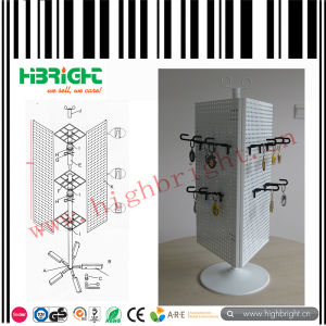 Ear Rings Small Pegboard Display Stand with Hooks pictures & photos