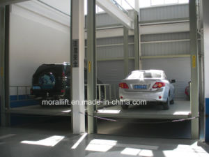 Hot Sale Four Post Auto Lift with Hydraulic System pictures & photos