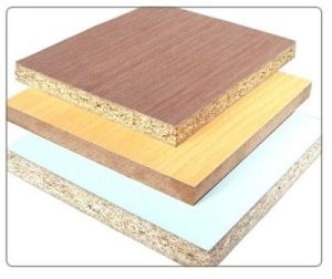 with Melamine Film Faced Particle Board