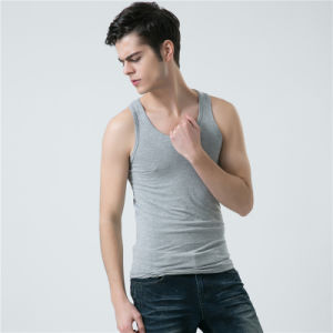 Wholesale Custom Sports Fitness Blank Gym Men′s Singlet pictures & photos
