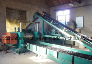 Crumb Rubber Tire Recycling Machine/Scrap Rubber Recycling Machinery/Rubber Powder Production Line pictures & photos