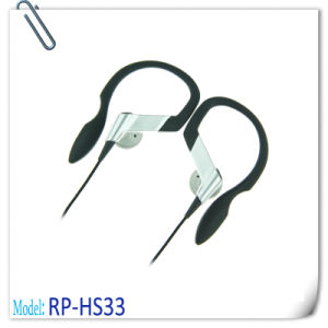 Hanger Designed Earphone Water Resistant Outdoor Use
