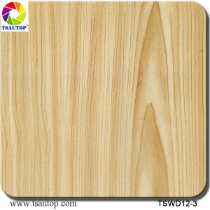 Tsautop 1m Width Straight Wood Water Transfer Printing Hydrographic Films pictures & photos