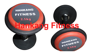 Hankang Fixed Rubber Dumbbell (HD-005) pictures & photos
