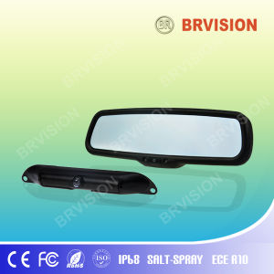 Car Camera System with 3.5 Inch Mirror & License Plate Camera pictures & photos