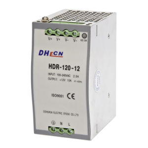 HDR-120 Single Output Industrial DIN Rail Power Supply pictures & photos