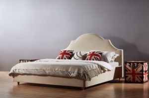 Modern Fabric Bed in Bedroom Furniture (A03) pictures & photos