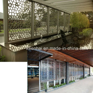 Carved Aluminum Perforated Sheet Metal Fence for Outdoor pictures & photos