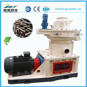 1.5t Ring Die Vertical Dobule Sizes Grass Wood Sawdust Alfalfa Bamboo Pelletizer Machinery Price pictures & photos