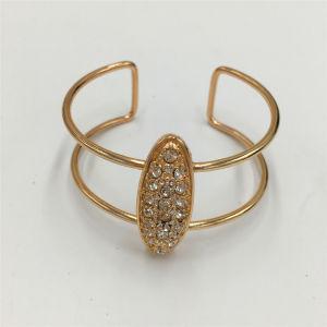Classic Alloy Open Bracelet with Glass Stone jewelry Bracelet