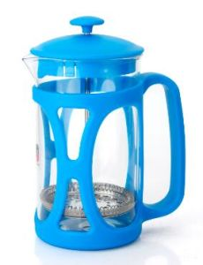 600ml Colorful French Press Glass Coffee Press