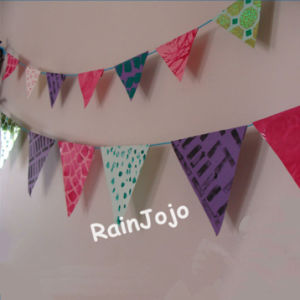Pennant String Flag Decorative Flags on String, Party Decoration pictures & photos